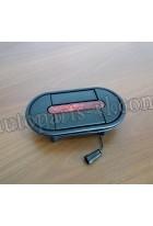 Ручка багажного отсека с габаритным фонарём 240*125 мм |259800060/259800010| XMQ6800,XMQ6127,XMQ6129,XMQ6130