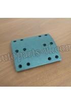 Накладки тормозные задние  3552-00365/3552-00362  ZK6899 (к-т)