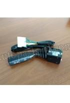 Переключатель подрулевой поворотов и света фар ISW0121 |6126A11-3774100-L| XML6126JR,SLK6126,SLK6128,SLK6122