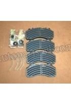 Колодки тормозные передние/задние (диск.тормоза) ZK6129 (к-т)