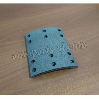 Накладка тормозная задняя 220x15x199/184 |224006019/3552-00365| XMQ6800,XMQ6900,ZK6899